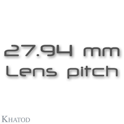 NACTUS Optical Systems - 27.94mm lens pitch