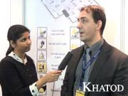 LED EXPO INDIA 2013 - Interview to Mr. Christian Todaro - Khatod Optoelectronic Srl