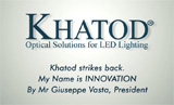 Khatod Video: Come see where your projects take shape and come true!