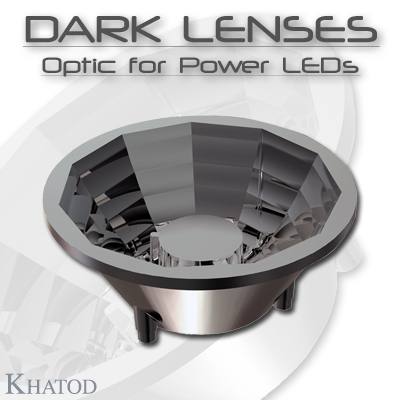 General LED Lighting: DARK LENSES - Optic Lens for Power LEDs