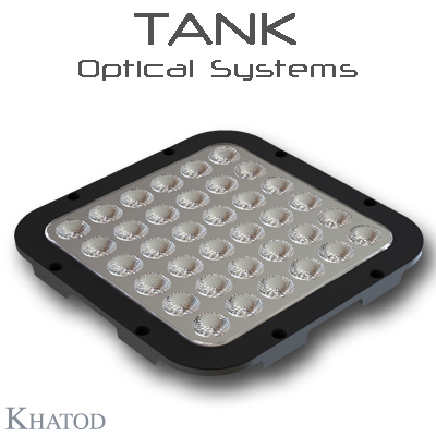 KEPL1889ME TANK Optical Systems - NEMA3 - 171,98mm x 171,98mm side - 12,12mm height