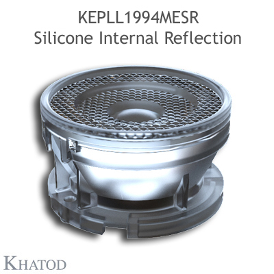 KEPLL1994MESR Silicone Internal Reflection - Diámetro 50.00 mm - Altura 29.00 mm - Haz mediano de 28°