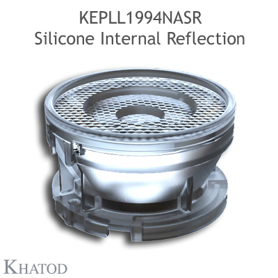 KEPLL1994NASR Silicone Internal Reflection - Durchmesser 50.00 mm - Höhe 29.00 mm - 12° enger Strahl