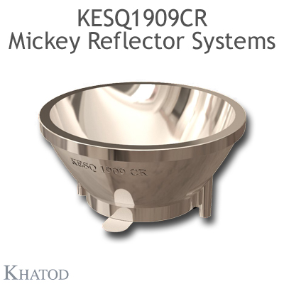 KESQ1909CR Mickey Reflector Systems - 24° FWHM - 32,39mm diameter - 14,85mm height