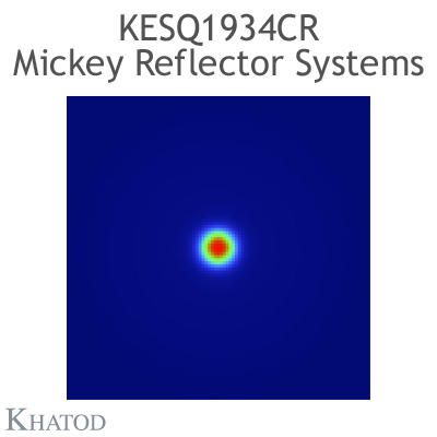 KESQ1934CR Mickey Reflector Systems - 12° FWHM - 49,91mm diameter - 25,08mm height