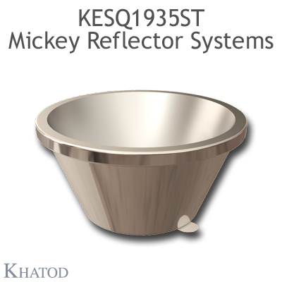 KESQ1935ST Mickey Reflector Systems - 18° FWHM - 49,91mm diameter - 25,08mm height