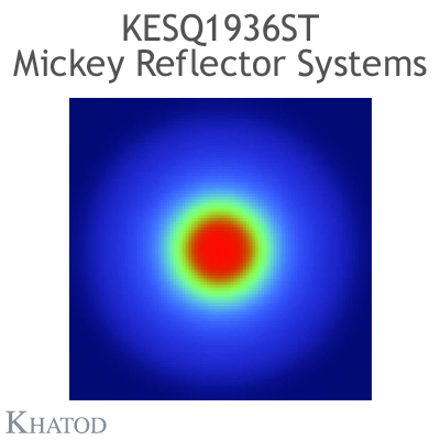 KESQ1936ST Mickey Reflector Systems - 30° FWHM - 49,91mm diameter - 25,08mm height