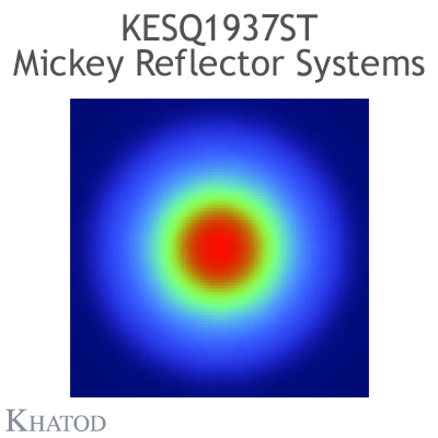 KESQ1937ST Mickey Reflector Systems - 52° FWHM - 49,91mm diameter - 25,08mm height