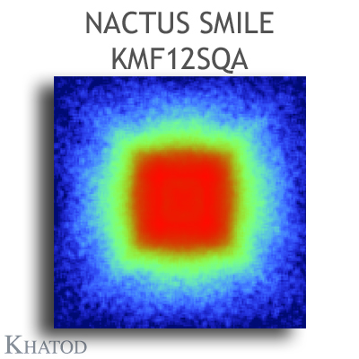 KMF12SQA NACTUS SMILE Optical Systems - 120° Square - 110mm diameter - 6mm height