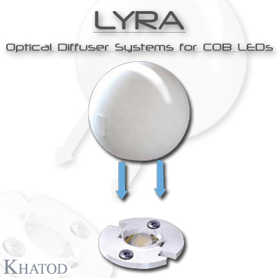 Optical Reflectors and Lenses for COB LEDs: LYRA - Optical Diffuser System for COB LEDs