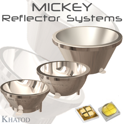 Optical Reflector Systems: MICKEY - Reflector Systems for Multichip LEDs