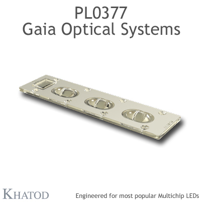 PL0377 GAIA Linear Lens-Array Optical Systems - ME3A - 195,74mm x 50,32mm side - 10,71mm height