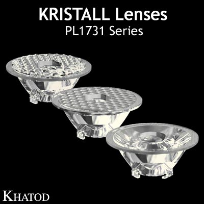 Kristall Lenses for COB LEDs - PL1731 Series