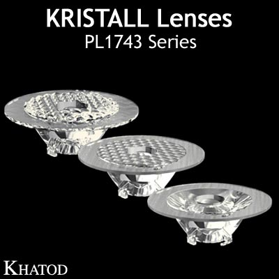 Kristall Lenses for COB LEDs - PL1743 Series