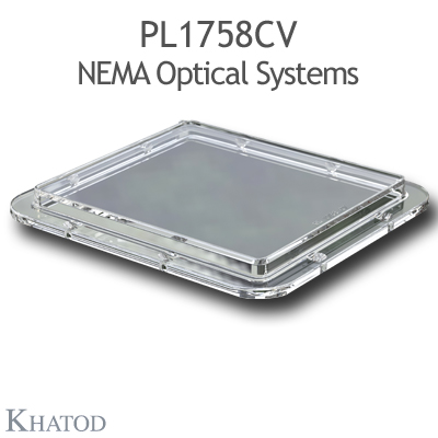 PL1758CV NEMA Optical Systems - NEMA7, 111° FWHM - 110mm x 120mm side - 9,51mm height