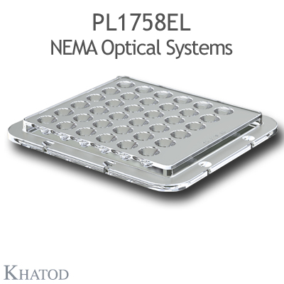 PL1758EL NEMA Optical Systems - 15°x40° FWHM - 110mm x 120mm side - 9,51mm height