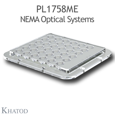 PL1758ME NEMA Optical Systems - NEMA3, 18° FWHM - 110mm x 120mm side - 9,51mm height
