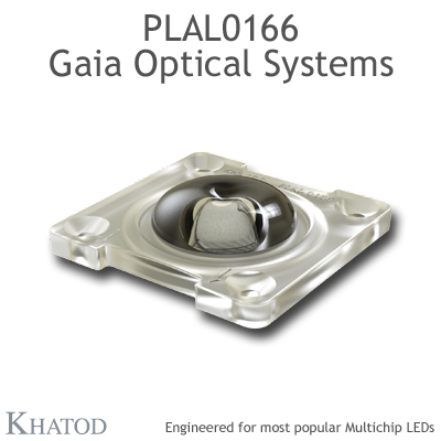 PLAL0166 GAIA ONE Optical Systems - TYPE V - 49,96mm x 49,96mm side - 9,85mm height