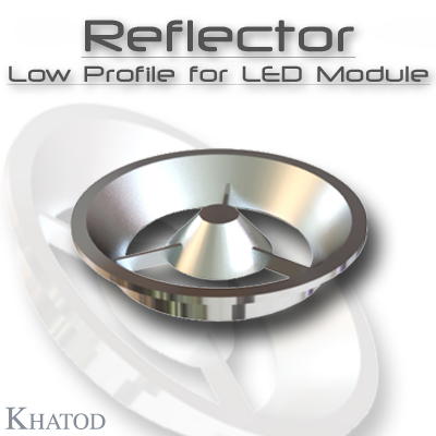 Optical Reflector Systems: Reflector Low Profile for LED Module