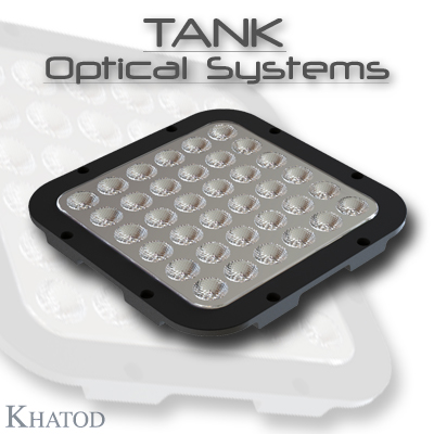 Wide Area LED Lighting: TANK OPTICAL SYSTEMS for Power LEDs