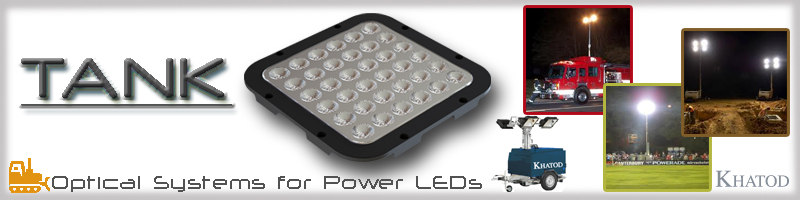 TANK Optical Systems for Power LEDs