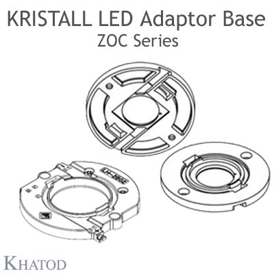 Kristall Lenses for COB LEDs - LED Adaptor Base