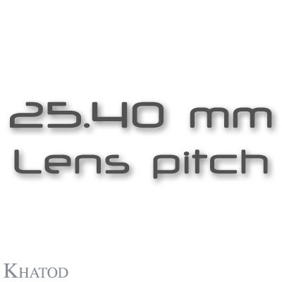 NACTUS Optical Systems - 25.40mm lens pitch