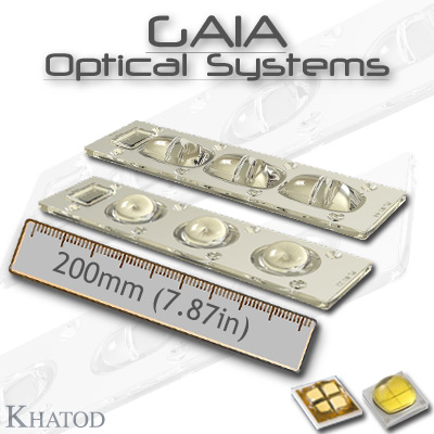 Wide Area LED Lighting: GAIA OPTICAL SYSTEMS for Multichip LEDs