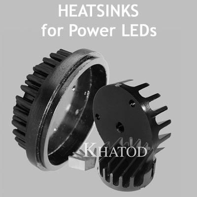General LED Lighting: Heatsinks for Power LEDs