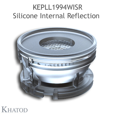 KEPLL1994WISR SIR50 Silicone Internal Reflection 50mm diameter - 40° Wide Beam