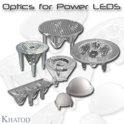 General LED Lighting: LENSES - Optics for Power LEDs