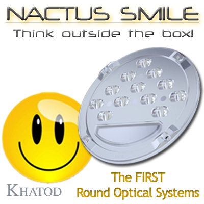 NACTUS SMILE - Nactus Optical Systems - Round module with 12 Optics - 110mm diameter