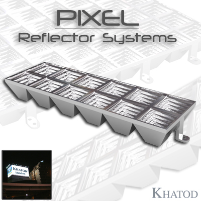 Wide Area LED Lighting: PIXEL Reflector Systems